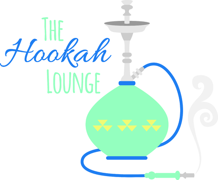 waterpipe: Colorful hookah pipe for flavored smoking enthusiasts.