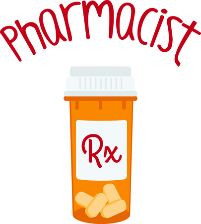 medication: Remember to take your medication with these pills.