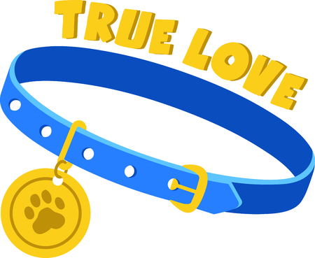 buckles: Show off your favorite dog with this cute design.