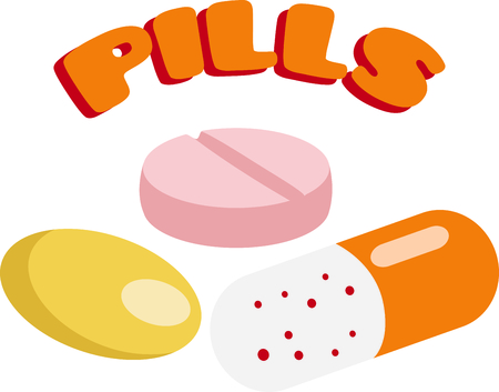 Remember to take your medication with these pills.