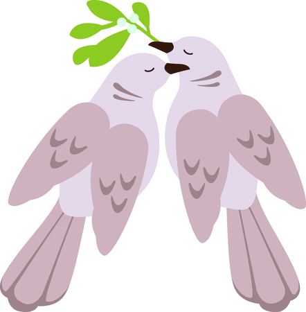 a christmas carol: A favorite holiday song, The tweleve Days of Christmas. The second day, two turtle doves.