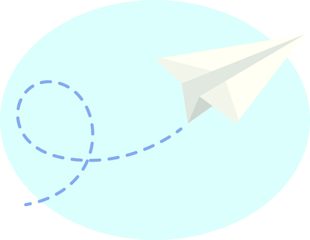 different ways: Let your imagination take flight with all the different ways you can use this airplane design.