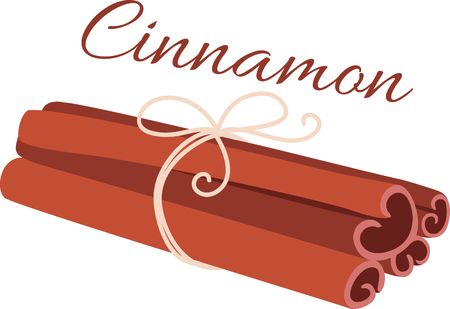 cinnamon sticks: Tied cinnamon sticks for the culinary aficionado.
