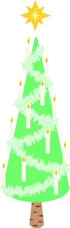 tannenbaum: This star-topped Christmas tree is great for people who like slightly abstract designs.
