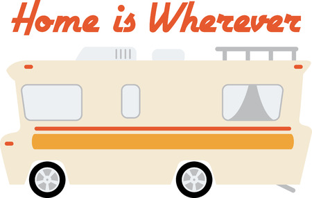Take a great RV with you on your next camping trip.