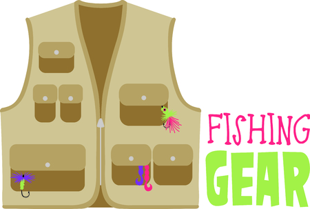 fly fisherman: Every fly fisherman needs a vest for their flies and hooks.  This lovely vest is a perfect way to decorate gifts for your special fisherman - or fisherwoman!
