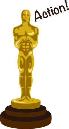 If you enjoy the movies you will love having your own oscar.