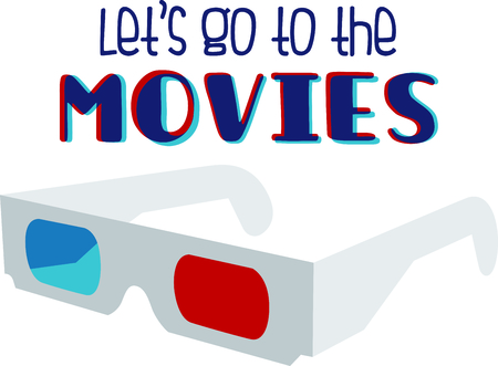 eyewear: If you enjoy the movies you will love having your own 3D glasses.