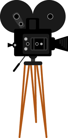 If you enjoy the movies you will love having your own camera. Vectores