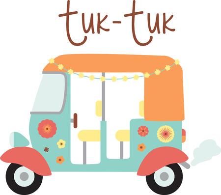 Tuk Tuks are a travel adventure.