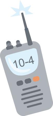 トランシーバー ラジオ、楽しいメッセージを送信する方法。