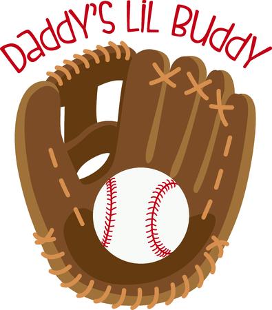 야구 착용시이 아름답게 자세한 장갑과 야구를 꿰맬 때주의를 기울이십시오. 특별한 터치를 위해 게임 데이 더플에서 사용하십시오. 일러스트