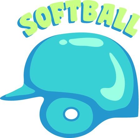 little league: This baseball catchers helmet is a fun decoration for your baseball themed projects.  Great for the catchers duffle bag!