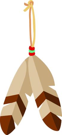 eathers make a wonderful addition to your Southwest design.  Use this image for your next design. Ilustração
