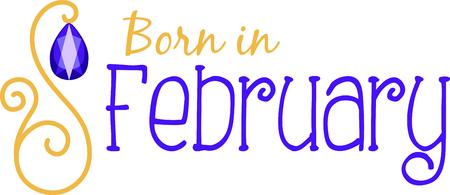 birthstone, 자수정으로 2 월 생일을 축하하십시오.