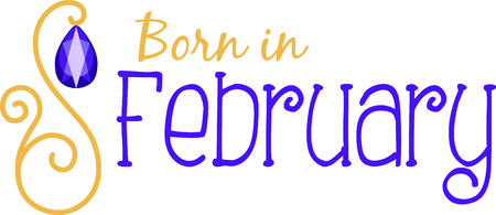 amethyst: Celebrate your February birthday with your birthstone, the amethyst.