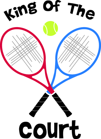 Remind your special tennis player that loves the game of tennis.  Perfect for couples that love to play tennis together!