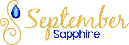 zafiro: Celebra tu cumplea�os de septiembre con su piedra de nacimiento, el zafiro.