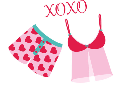 some: Laundry day can be fun with some cute underclothes.