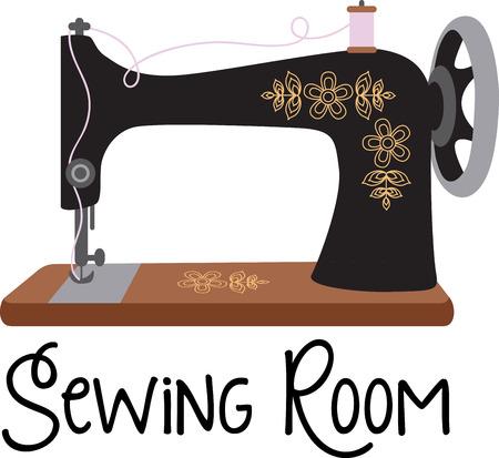 costurera: Seamstress will like a great vintage machine.