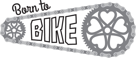Cyclists will like some bike gears for their outdoor activity. Illustration