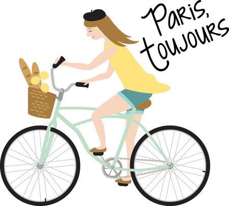 Fietsers zullen genieten van een fiets met mooie bloemen.