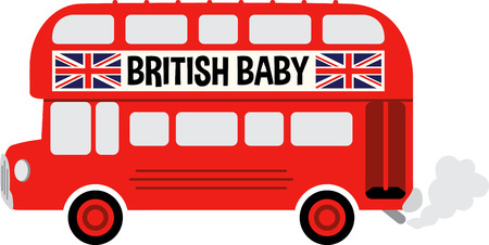 english bus: A English bus will make a great project for a traveler.