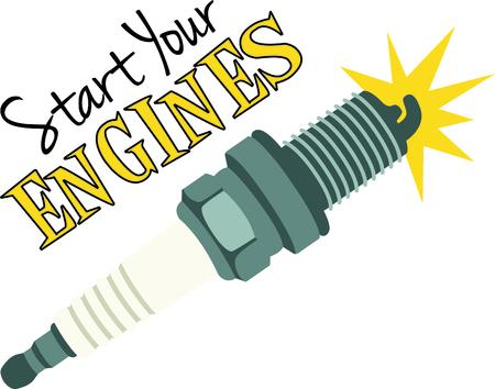 spark plug: Spark plug for mechanics and auto repair hobbyist.