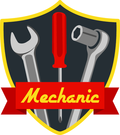 Wrench, screwdriver and socket wrench shield for mechanics and auto repair hobbyist.