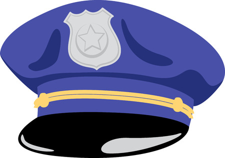 cops: Policemen will like this great hat on a shirt.