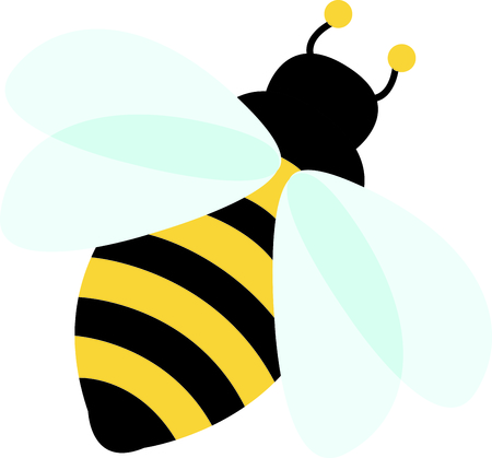 Use this image of a garden bee in your next design.