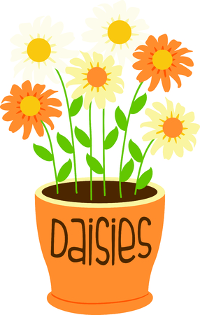 あなたの次の春のデザインの庭のヒナギクのこのイメージを使用します。  イラスト・ベクター素材
