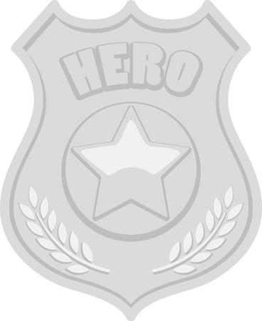 patrolman: Policemen will like this nice badge for their chosen profession.