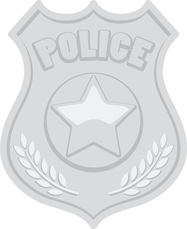 chosen: Policemen will like this nice badge for their chosen profession.
