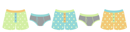 undergarment: Laundry day can be fun with some cute underclothes.