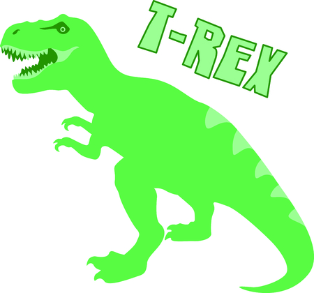childs: Use this image of a dinosaur in your childs design. Illustration