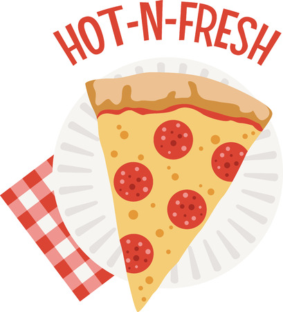 楽しいニューヨーク シャツのこのピザを使用します。  イラスト・ベクター素材