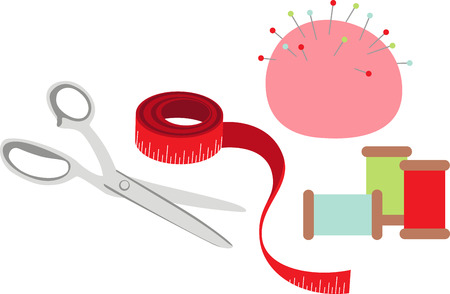 sewing box: Seamstress will like great notions for their sewing box.