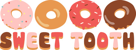 Use this donut design for a fun shirt.