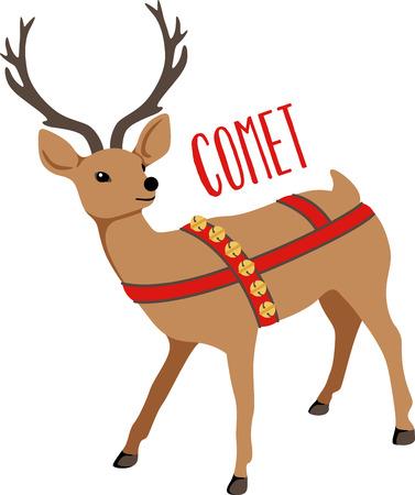 Reindeer are a great holiday decoration. Zdjęcie Seryjne - 43868908