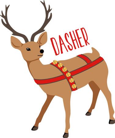 Reindeer are a great holiday decoration. Zdjęcie Seryjne - 43868906