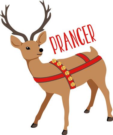 Reindeer are a great holiday decoration. Zdjęcie Seryjne - 43868912