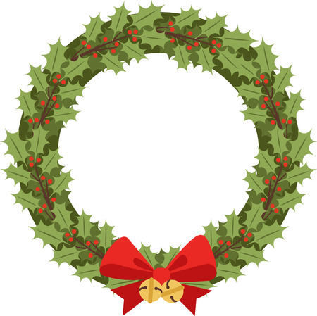 A Holly Wreath Is Great Christmas Decoration