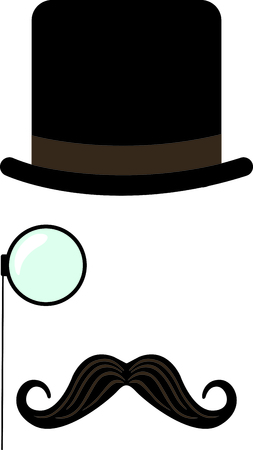 monocle: Express your class with this dapper monocle man.