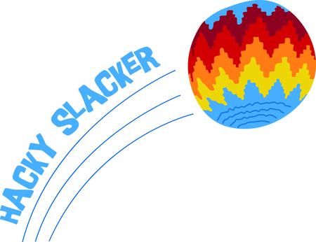hack sack illustrations Ilustração