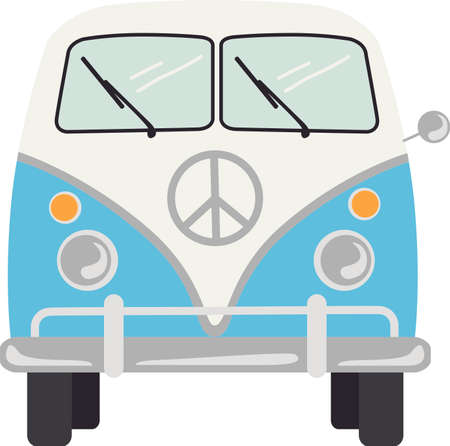 mini van: Mini van illustrations