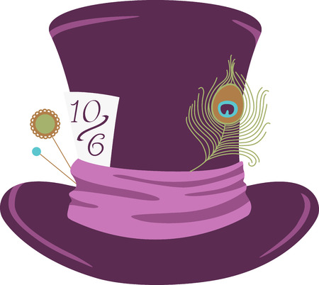 Mad Hatter Hat Stock Illustrations Cliparts And Royalty Free Mad Hatter Hat Vectors