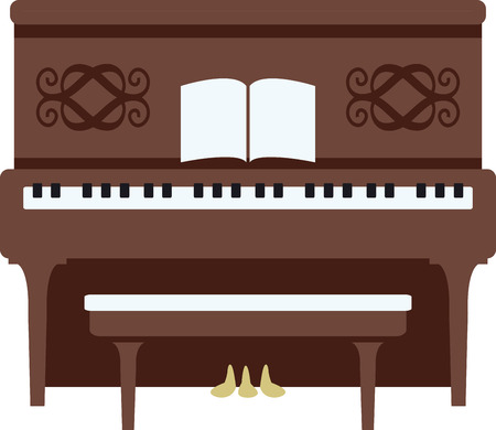 A piano is a great instrument for any kind of music you like. Çizim