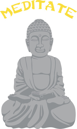 A practitioner of Buddhism will love this statue. Ilustrace