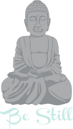 A practitioner of Buddhism will love this statue. Illusztráció
